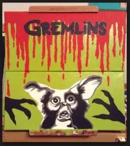 Capture a gremlin painting