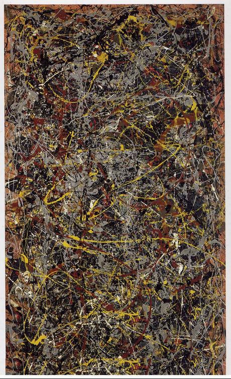 'No 5. 1948' Oil on fibreboard 2.4 m x 1.2 m