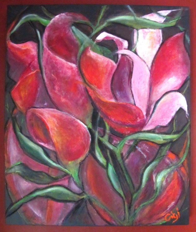 Cyclamen- a painting of my own