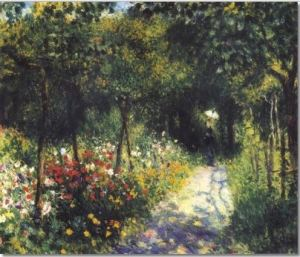 Capture french impressionist painting