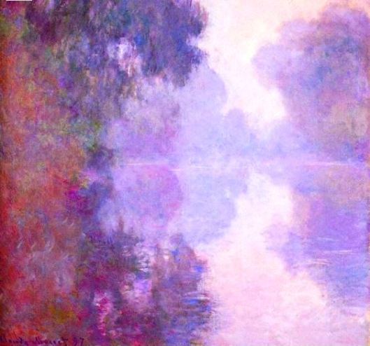purple monet water
